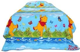 V Brown Cartoon Single Dohar Multicolor(AC Blanket, 1 Single Bed Dohar)