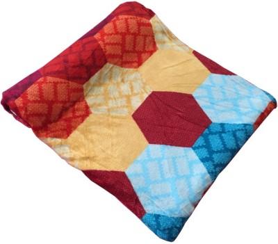 Autre Allure Geometric Double Blanket Multicolor