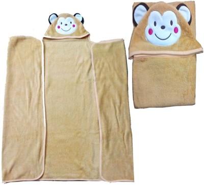 Baby Basics Cartoon Single Blanket Brown