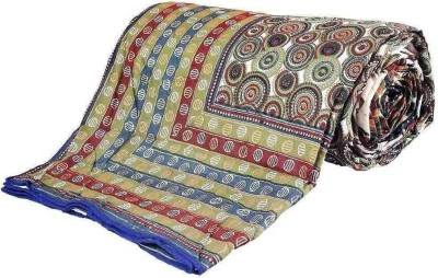 Little India Polka Double Quilts & Comforters Multicolor