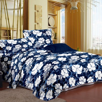 Story @ Home Floral Queen Dohar Blue
