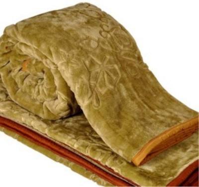 Tip Top Sales Floral Double Blanket Multicolor