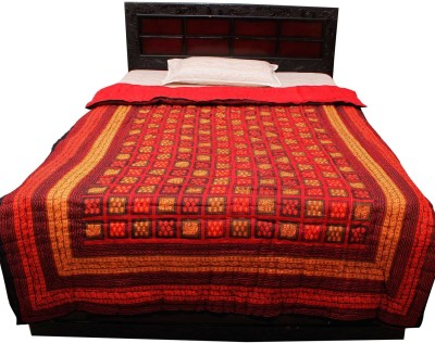 Jaipur Raga Animal Single Quilts & Comforters Red