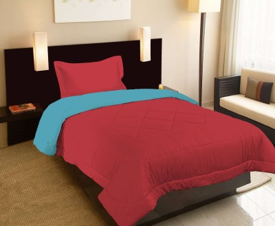 Raymond Home Abstract Single Quilts & Comforters Red