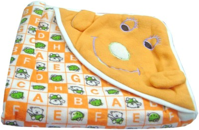 Baby Basics Cartoon Single Blanket Orange