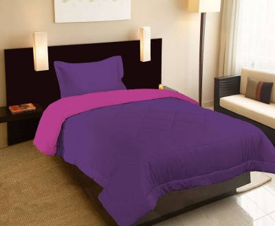 Raymond Home Abstract Single Quilts & Comforters Purple