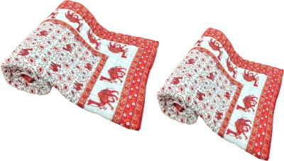 Shopping Rajasthan Animal Single Quilts & Comforters Multicolor