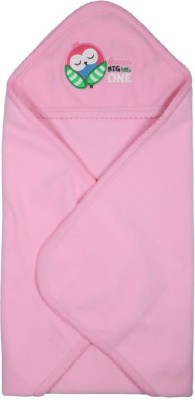 Morisons Baby Dreams Plain Single Blanket Pink