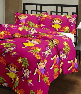 RajasthaniKart Cartoon Single Dohar Multicolor
