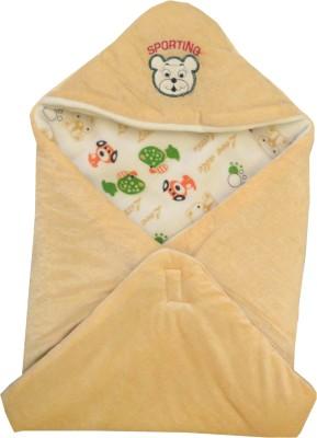 My NewBorn Checkered Single Blanket Beige