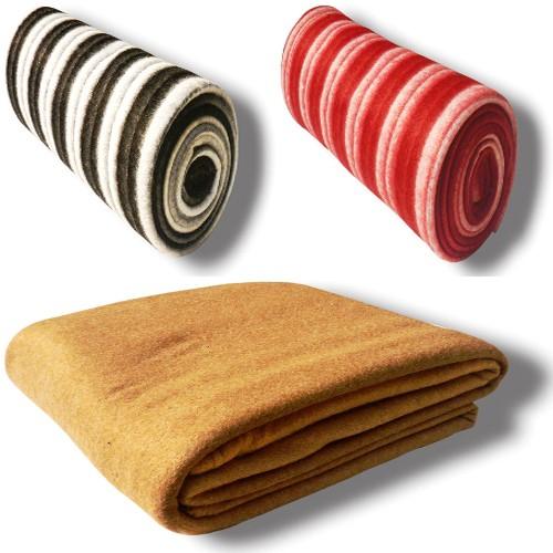 Vertex Striped Double Blanket Multicolor