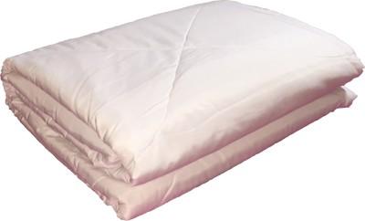 Autre Allure Plain Double Quilts & Comforters White