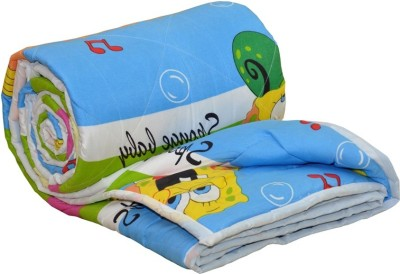 AJ Home Cartoon Single Quilts & Comforters Blue