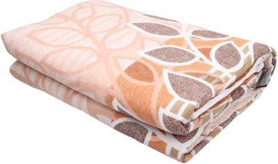 Coco Bee Floral Single Quilts & Comforters Brown, Beige