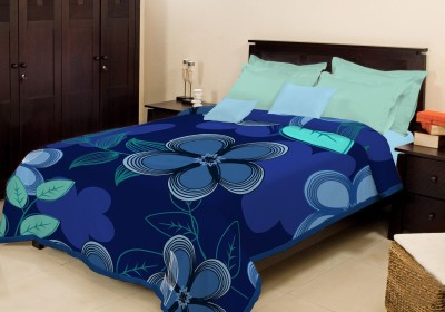 Bombay Dyeing Floral Single Blanket Blue