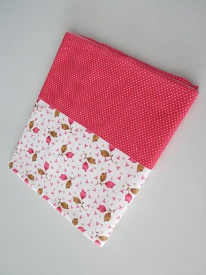 Deluxe Floral Single Top Sheet Red