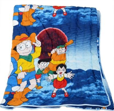 Deals For Bulk Cartoon Single Quilts & Comforters Blue