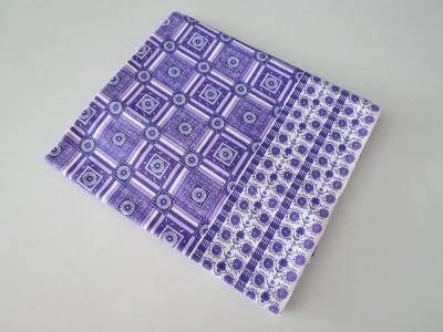 Deluxe Geometric Single Top Sheet Purple