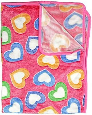 Rachna Abstract Single Blanket Pink