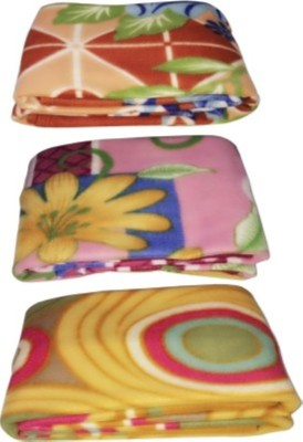 Satviham Printed Single Blanket Multicolor
