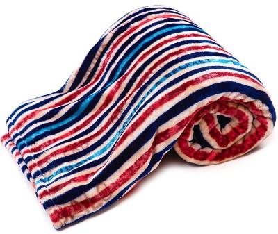 Jain International Striped Single Blanket Multicolor