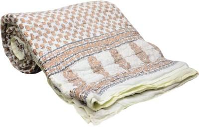 Monil Floral Single Quilts & Comforters Multicolor