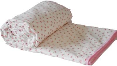 Snuggle Floral Single Top Sheet Pink