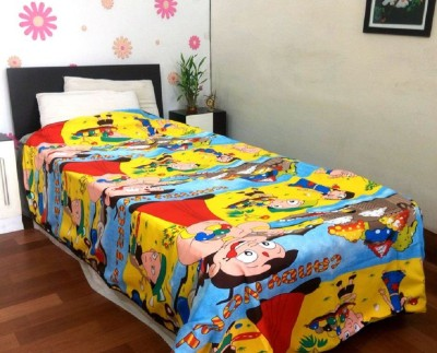 JR Print Cartoon Single Dohar, Quilts & Comforters Multicolor