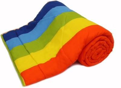 Gujattire Striped Double Quilts & Comforters Multicolour