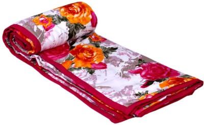 IndiStar Floral Double Dohar Multicolor