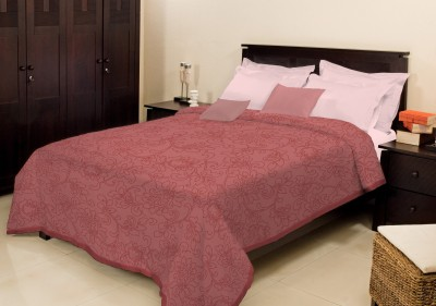 Bombay Dyeing Floral Single Blanket Pink
