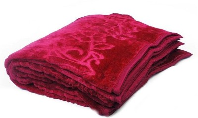 Bed n Craft Plain Double Blanket Red