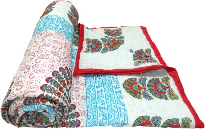 Shop Rajasthan Paisley, Printed Single Quilts & Comforters Red