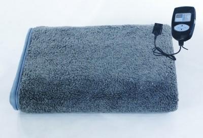 Winter Care Plain Single Electric Blanket Grey