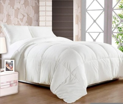 Story @ Home Plain Double Quilts & Comforters White