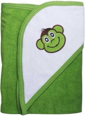Manorath Plain Crib Blanket Green