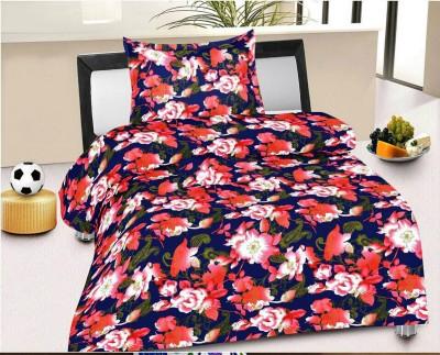 Factorywala Floral Single Blanket Pink
