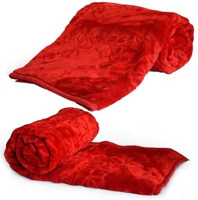 Tijaria Printed Double Blanket Red