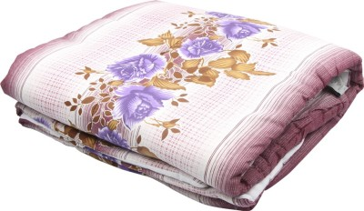 Coco Bee Floral Single Quilts & Comforters Multicolor