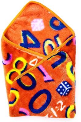 Jain International Abstract Single Blanket Orange