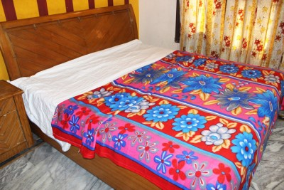 Majestic Floral King Blanket Multicolor