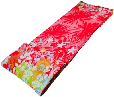 Vibrant Homze Floral Double Blanket Red