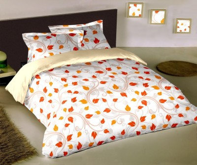 Raymond Home Floral Double Quilts & Comforters Red