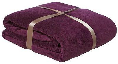 SWHF Plain Single Blanket Purple