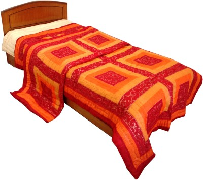 Rajasthan Crafts Geometric Single Quilts & Comforters Multicolor
