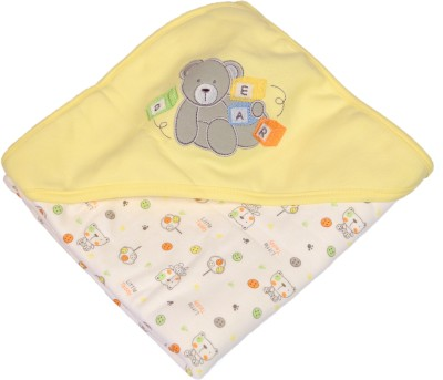 Baby Bucket Cartoon Single Blanket Yellow