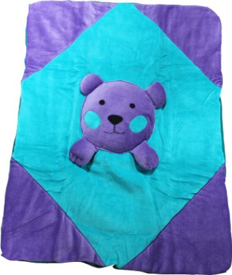 Just Pinto's Cartoon Single Quilts & Comforters Green, Purple