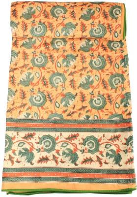 Chhipa Prints Floral Single Dohar Grey