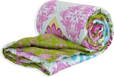 Salona Bichona Floral Single Quilts & Comforters Green