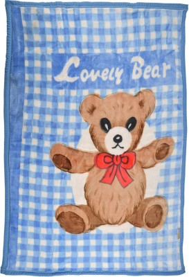 MeeMee Cartoon Single Quilts & Comforters Blue